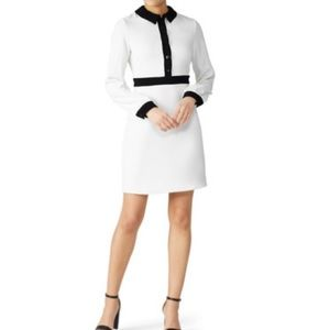 Slate & Willow white tailored dress